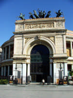 Teatro Politeama. ingresso PALERMO Salvatore Riva