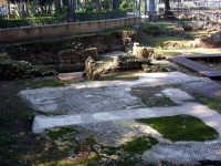 Area archeologica Piazza della Vittoria  a villa Bonanno PALERMO Salvatore Riva