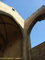 Santa Maria dello Spasimo (1526) - Alta, slanciata, la navata centrale, senza copertura, tende le su