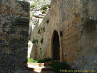 Prima cerchia di mura  - Cefalù (3170 clic)