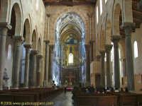 Il Duomo (Navata centrale)  - Cefalù (1664 clic)