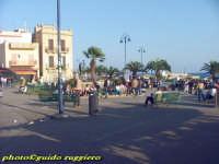 la piazza di Mondello  - Palermo (4050 clic)