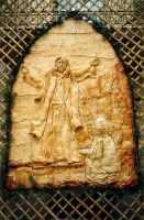 Pasqua - Particolare delle decorazioni in pane dei caratteristici archi  - San biagio platani (5767 clic)