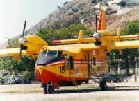 Aeroporto militare di Boccadifalco - Esercitazione antincendio - Canadair  - Palermo (3997 clic)