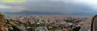 foto panoramica ripresa dal Monte Pellegrino PALERMO Guido Ruggiero