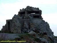Capo Gallo - Resti di un Bunker risalente alla II guerra mondiale PALERMO Guido Ruggiero
