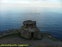 resti di un bunker a Capo Gallo PALERMO Guido Ruggiero