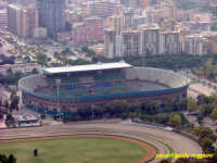 Lo stadio Barbera, in alto a sinistra piazza Alcide De Gasperi  - Palermo (14786 clic)