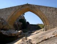 Ponte Calatrasi o Ponte del Diavolo Ponte Calatrasi o Ponte del Diavolo, età arabo-normanna. Consiste in un arco a sesto acuto con due ghiere di conci radiali in pietra squadrata.  - Roccamena (8460 clic)