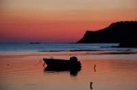 tramonto marino  - Scala dei turchi (15359 clic)