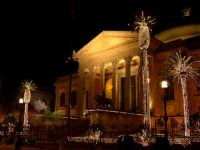 Teatro Massimo. Progettato da Giovan Battista Basile, noto architetto palermitano il 12 gennaio 1875