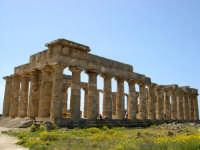Situata su di una spianata alta circa 30 metri s.l.m., Selinunte prende il nome dal Selinon. Venne fondata da coloni di Megara Hyblaea guidati dall' ecista Pammilos, nel VII secolo a.C. Tempio E.  - Selinunte (2823 clic)