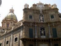 I quattro cantoni eleganti prospetti architettonici barocchi 1609/1620, sono composti da quattro ord