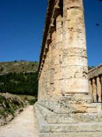 Il tempio, eretto nel 430 a.C., è un elegante edificio dorico.  - Segesta (2224 clic)