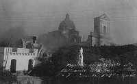 6 Novembre 1928, la lava invade e distrugge l'abitato.  - Mascali (6095 clic)