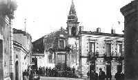 Chiesa e piazza San Cristoforo nell'antica Mascali, oggi non più esistenti  - Mascali (10100 clic)