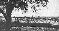 Panorama dell'abitato prima della distruzione del 1928  - Mascali (7339 clic)