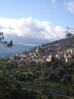 Panorama del paese  - Casalvecchio siculo (6078 clic)