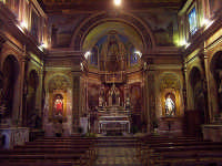 Interno del duomo di Sant'Onofrio  - Casalvecchio siculo (7668 clic)
