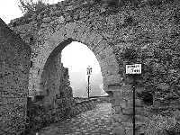 Resti della fortificazione medievale e porta della città  - Savoca (4464 clic)