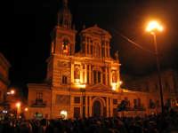 Venerdì Santo, piazza duomo e chiesa di San Sebastiano  - Caltanissetta (4121 clic)