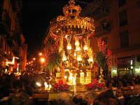 Venerdì Santo, il fercolo col crocifisso   - Caltanissetta (4477 clic)