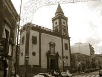Chiesa Madre nei giorni della festa  - Mascalucia (6350 clic)