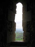 Feritoia del castello chiaramontano  - Mussomeli (3984 clic)