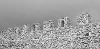 Castello chiaramontano, merlatura  - Mussomeli (5652 clic)