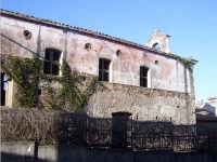 Antica chiesa di origine bizantina dedicata alla Madonna Annunziata in stato di totale abbandono  - Nunziata di mascali (6398 clic)