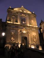 Basilica della Madonna della Catena - notturno  - Castiglione di sicilia (2305 clic)