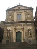 La facciata barocca della basilica della Madonna della Catena  - Castiglione di sicilia (5563 clic)