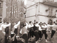 varetta e portanti per la festa di San Sebastiano del 20 gennaio  - Mistretta (5129 clic)