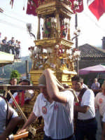Candelore per la festa dei Santi Alfio Filadelfo e Cirino  - Sant'alfio (7835 clic)