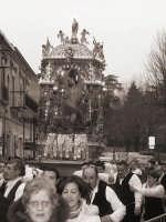 San Sebastiano e portanti per la festa del 20 gennaio  - Mistretta (6216 clic)