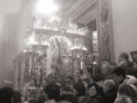 San Sebastiano rientra in chiesa  - Mistretta (5470 clic)