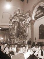 San Sebastiano rientra in chiesa  - Mistretta (6595 clic)