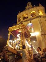 L'uscita del fercolo con San Giovanni Battista  - San giovanni montebello (4746 clic)