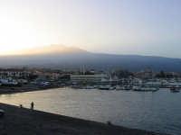 tramonto al porto  - Riposto (2963 clic)