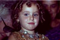 Lia Cottone vestita da verginella in occasione della festa in onore di M.S.S.D.Grazie.  - Montagnareale (1933 clic)