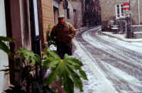 Achille sotto la neve.  - Montagnareale (2776 clic)