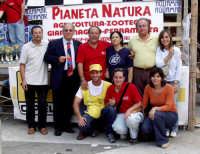 1°Slalom CITTA' DI MONTAGNAREALE. Il Vicesindaco Calogero Cipriano,il Sindaco Nino Sidoti,alcuni organizzatori,e l'Assessore Salvatore Sidoti.  - Montagnareale (6478 clic)
