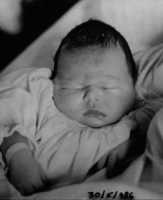 Mio Figlio Gianmarco appena nato. Firenze 30/06/1986.  - Montagnareale (2710 clic)