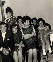 Vecchie foto:matrimonio Mario Spinella e Salvina Calabro'.0037.  - Sorrentini di patti (3646 clic)
