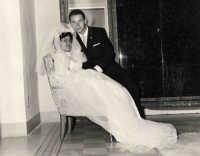 Vecchie foto:matrimonio Mario Spinella e Salvina Calabro'.0037.  - Sorrentini di patti (3345 clic)