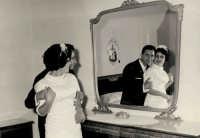 Vecchie foto:matrimonio Mario Spinella e Salvina Calabro'.0039b.  - Sorrentini di patti (4785 clic)