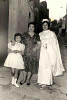 Vecchie foto:matrimonio Mario Spinella e Salvina Calabro'.0042.  - Sorrentini di patti (3882 clic)