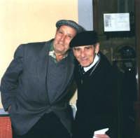 Don Giovannino Giaimo e Don Vincenzino Cappadona.  - Montagnareale (2991 clic)
