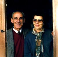 Don Vincenzino Cappadona e La Sign.ra Concetta Pizzo in Maiorana.  - Montagnareale (3134 clic)