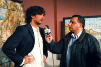 Centro Culturale S.sebastiano:Alessandro Antonino intervistato da una televisione locale. DSC_0023  - Montagnareale (3958 clic)
